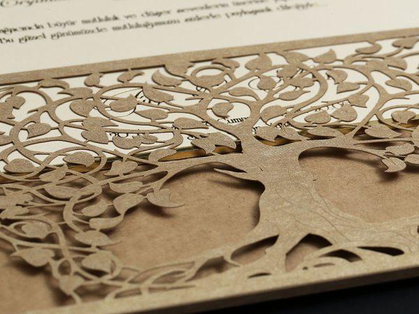 Ağaç Kesim Davetiye Modeli