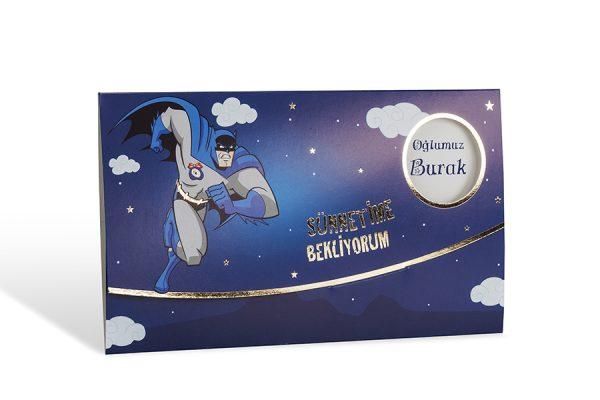 Batman sünnet davetiyesi