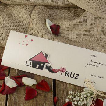 Evleniyoruz Hareketli davetiye 2