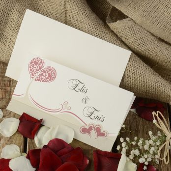 Kalp aşk davetiye