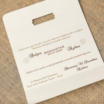 Wedding Davetiye 8306